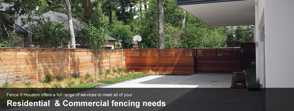 Fence it houston